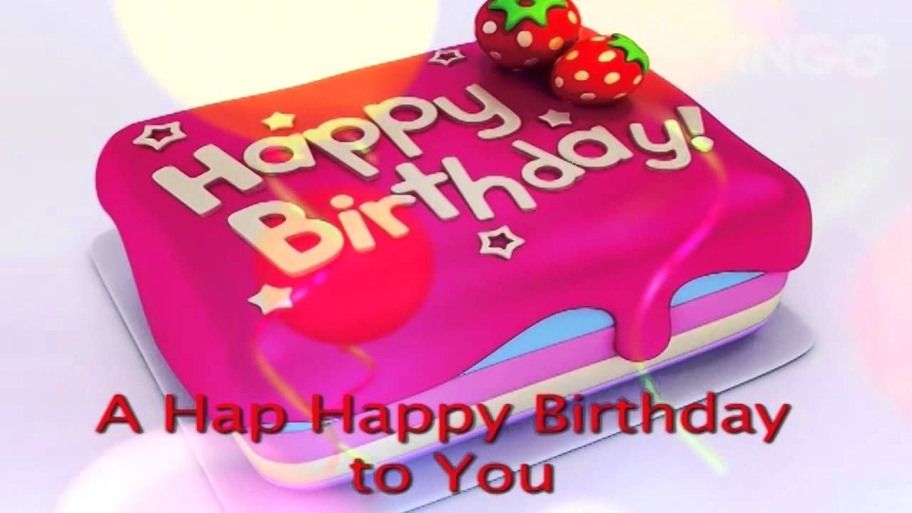 Groovy The Happy Birthday Song Lyric Video With Images Happy Funny Birthday Cards Online Fluifree Goldxyz