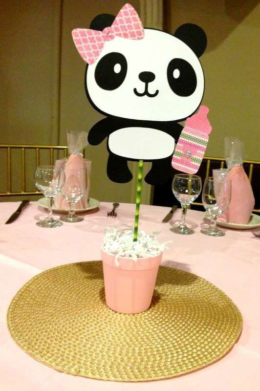 Baby Panda Baby Shower Party Ideas