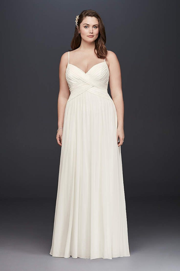 Maternity casual wedding dress  Davidus Bridal has a variety of beach u destination wedding dresses