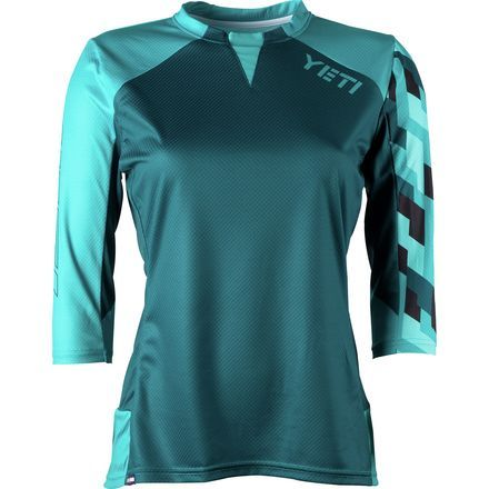 Yeti Cycles Enduro Jersey - 3 4-Sleeve - Women s Turquoise 102bbb275