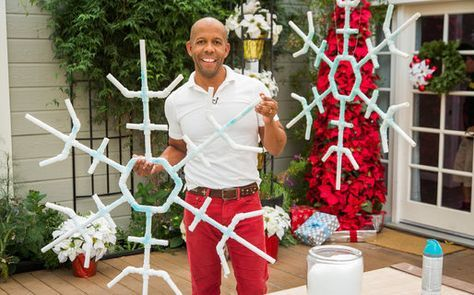 Do it yourself snowflakes home family seasons pinterest how to kens diy christmas outdoor snowflakes home family solutioingenieria Images