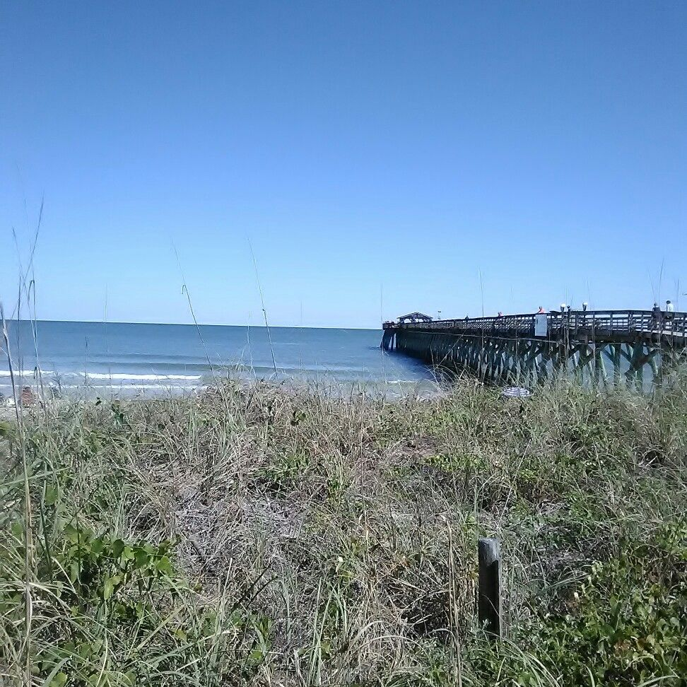 Pier at Myrtle Beach state park (With images) Myrtle