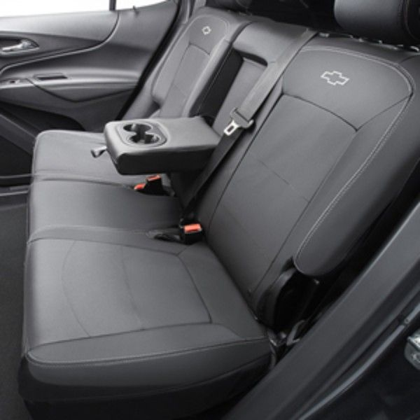 2018 Equinox Rear Seat Cover Black W Grey Fitted 84071414 Seat