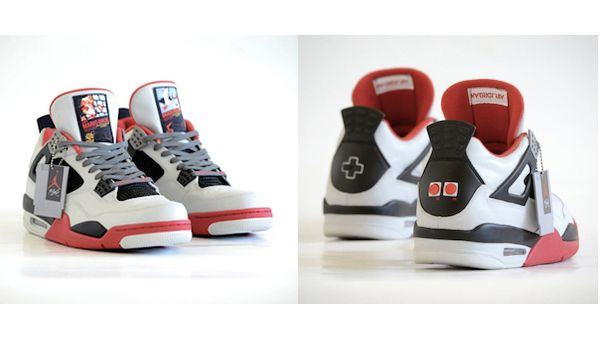 Artist Custom-Makes Nike Air Jordan