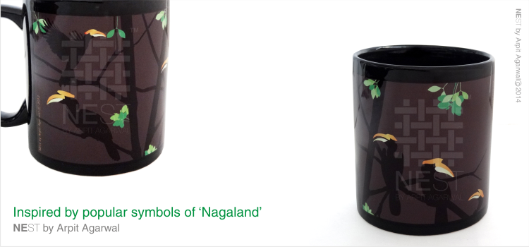 Fascinating Hornbills of Nagaland Coffee Mug They are