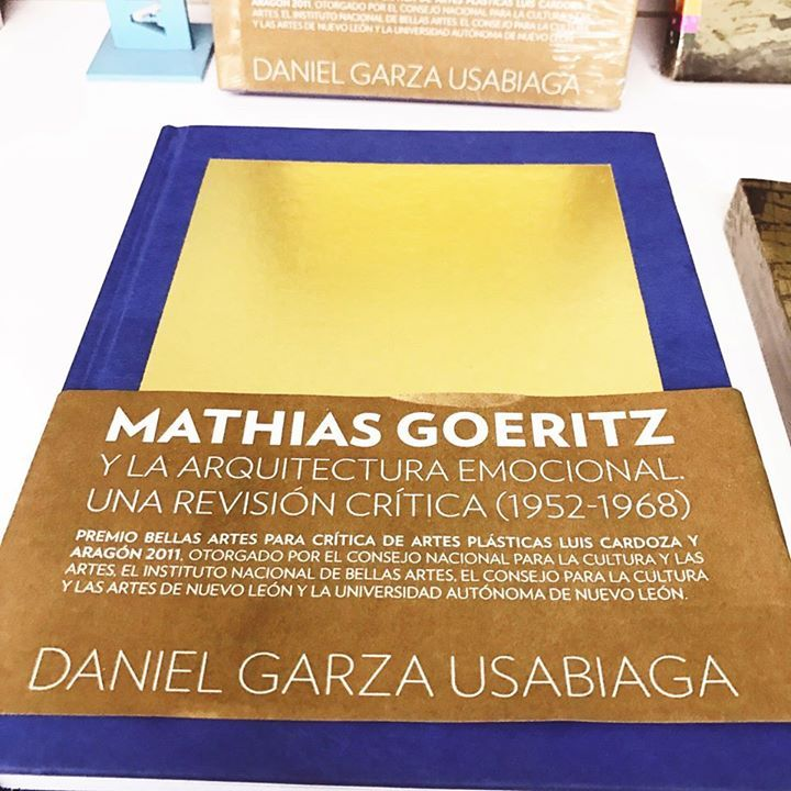 #Recomendamos: Empezar el año con la arquitectura de Mathias Goeritz Nos vemos en Librería Conarte! #SomosLectores #SomosCONARTE