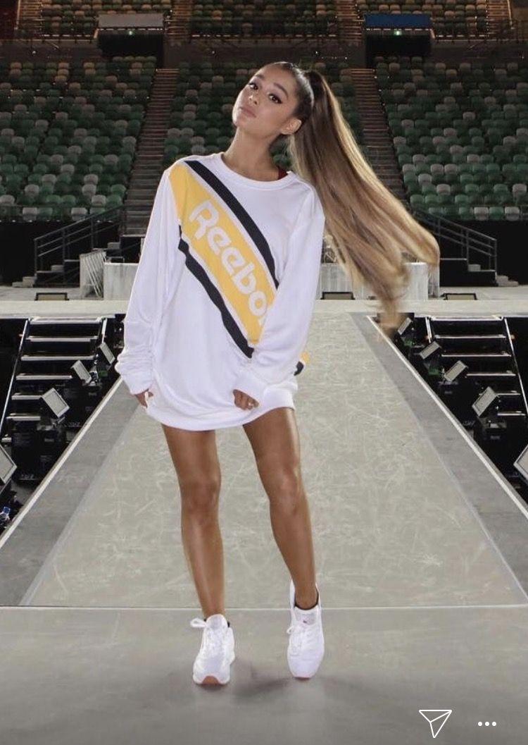 Ariana Grande For Reebok Ariana Grande Pinterest