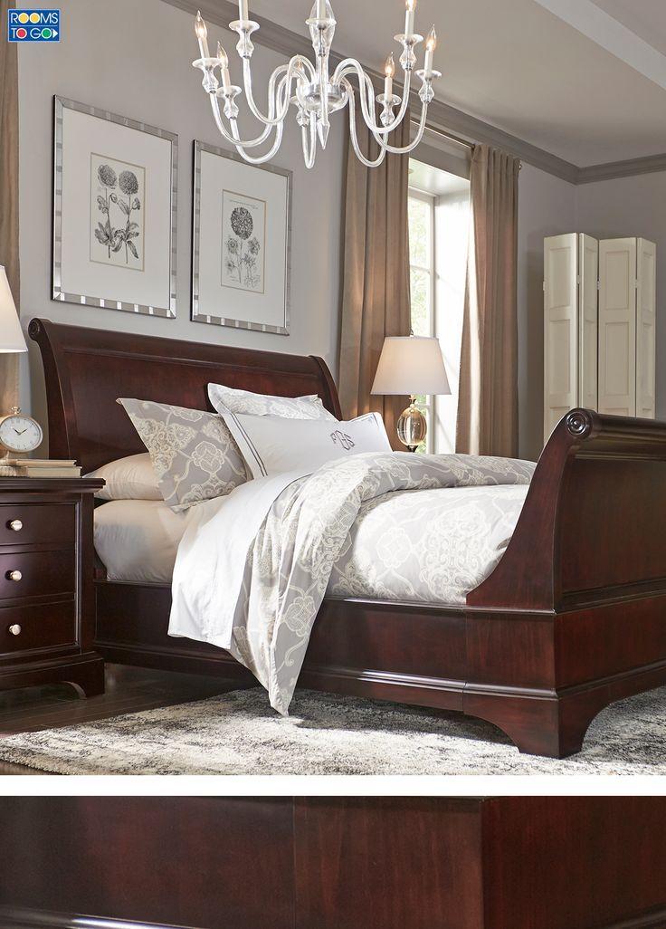 Whitmore Cherry 6 Pc Queen Sleigh Bedroom In 2018 Master