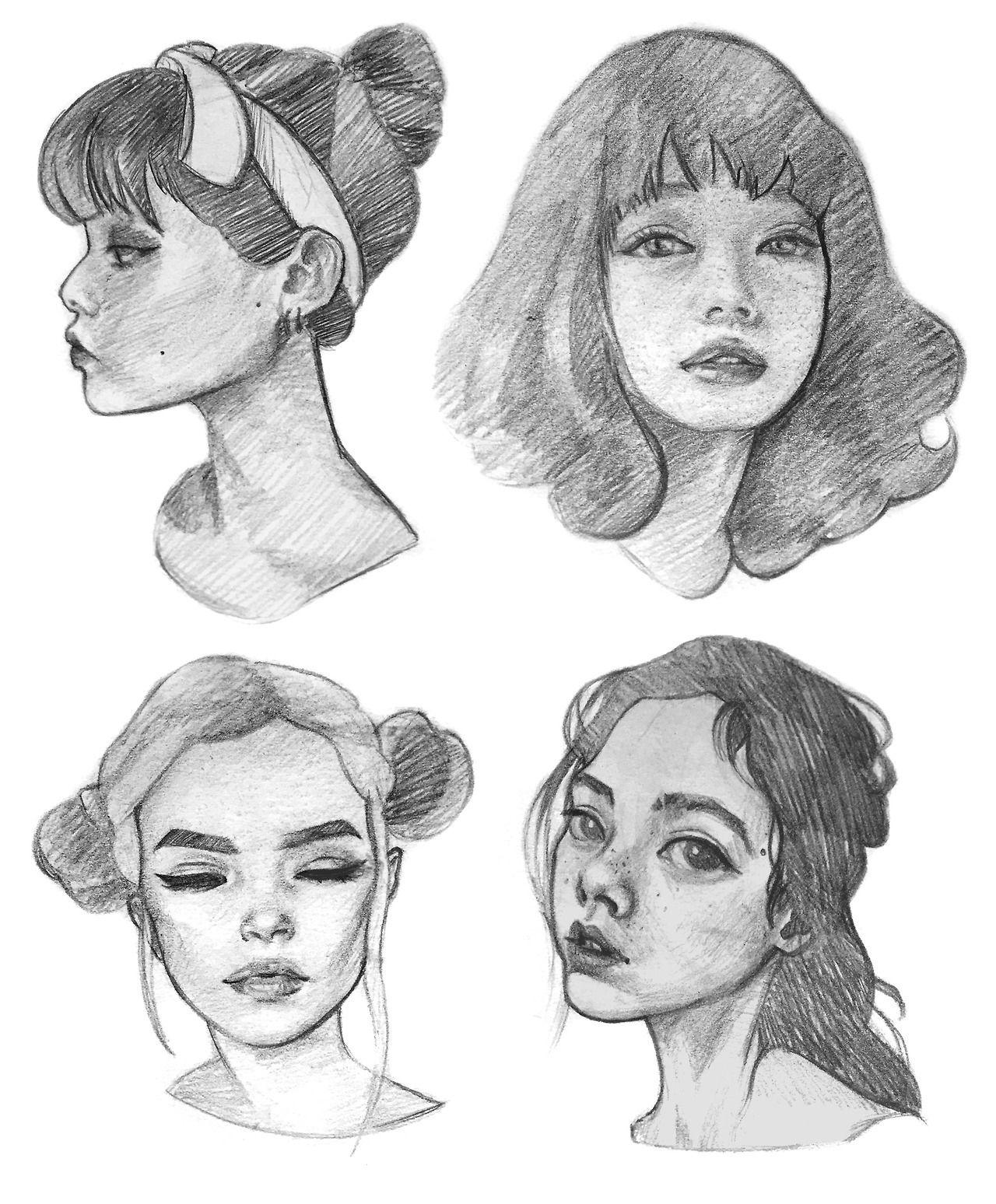 Draw Face Tumblr Face Drawing Realistic Drawings Drawings