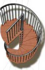 Best Gamia Spiral Staircases Staircase Spindles Wooden 400 x 300