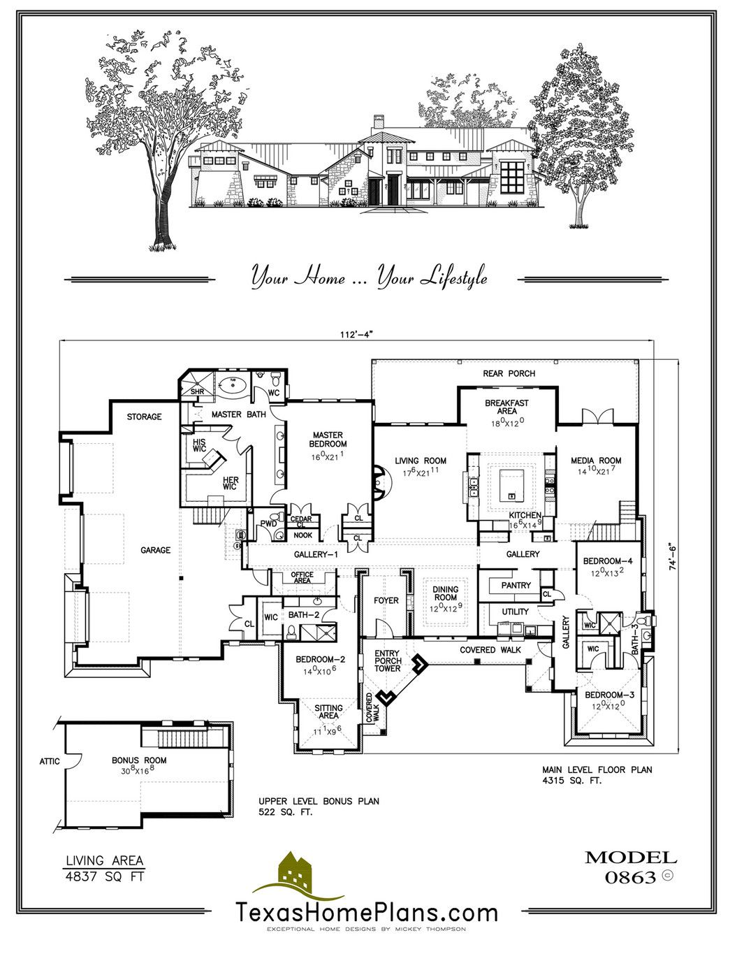 Texas Home Plans Texas Mission Homes Page 56 57 Texas Homes Country Floor Plans How To Plan