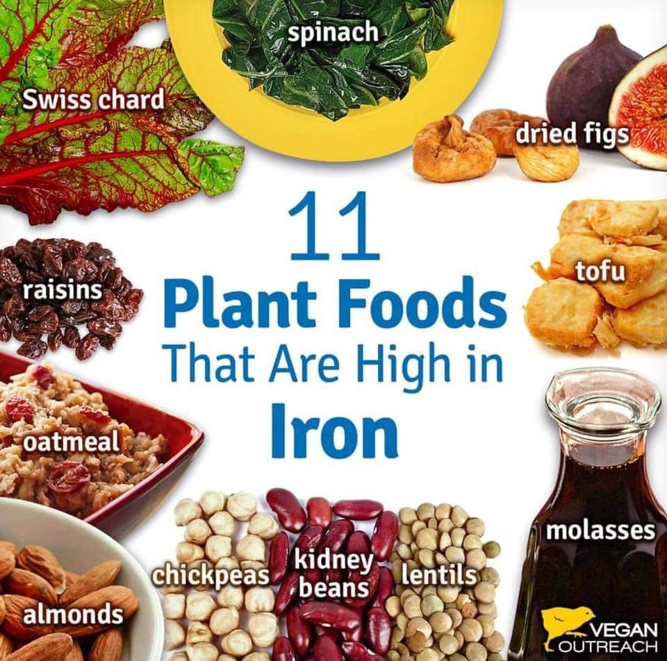 Pin by Sugar Plum on Hlth Foods high in iron, Foods with