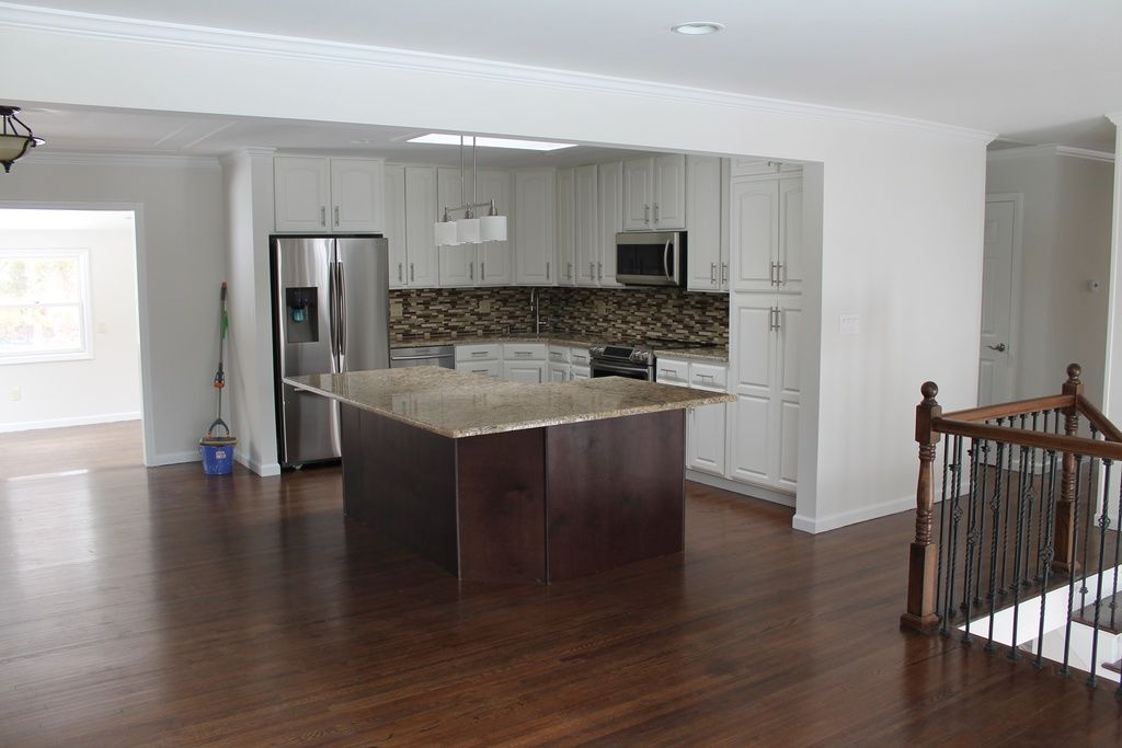 Raised ranch kitchen renovation 8 florence dr mahopac ny - 10x10 kitchen designs with island ...