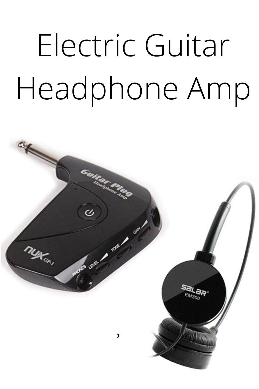 Electric Guitar Headphone Amp In 2020 Acoustic Guitar Amp Electric Guitar Guitar Amp
