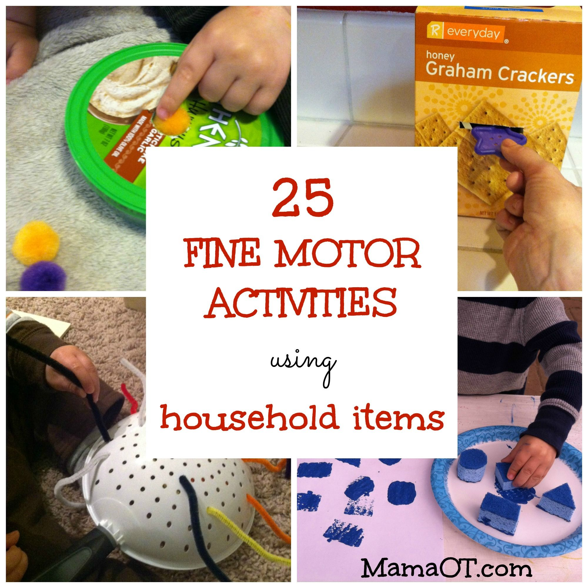 Spiele Motorik Fördern 25 Fine Motor Activities Using Household Items Spiele