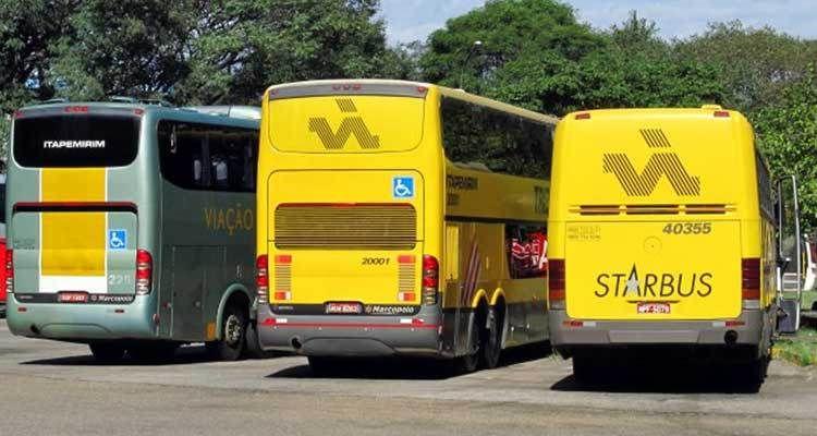 Ônibus da Viação (Foto: Fernando Antunes)