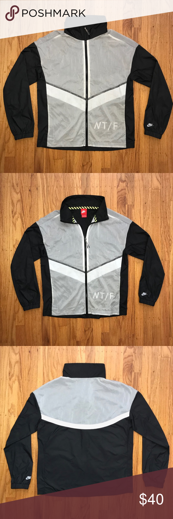 1b20e1b8e Nike Reflective Windbreaker (Nike Track and Field) Nike Reflective  Waterproof Track and Field Windbreaker - Worn a few times, in excellent  condition - Size ...