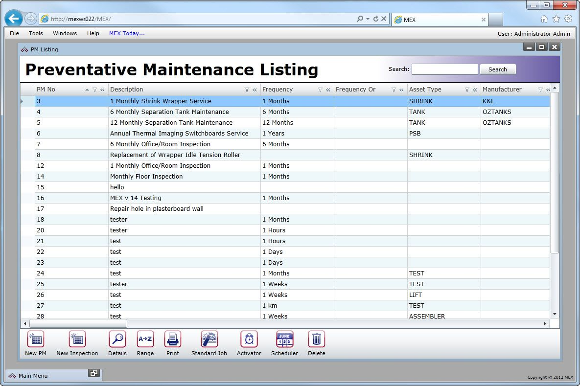 Vehicle Preventive Maintenance Template Excel http//www