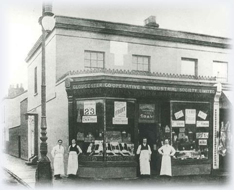 Co-operative Food on | Cheltenham, Street view, Scenes