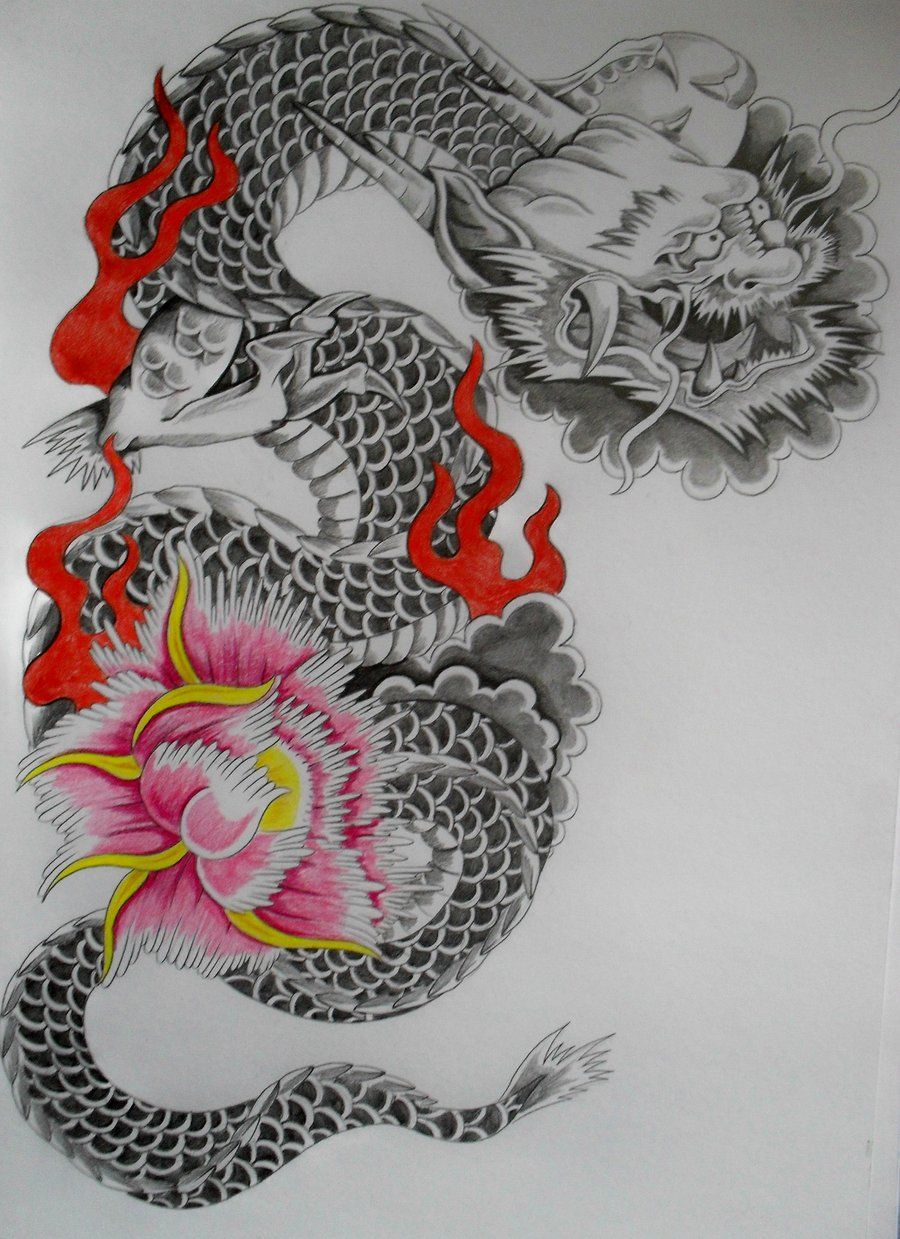 Zennyo Japanese Dragons Mythos