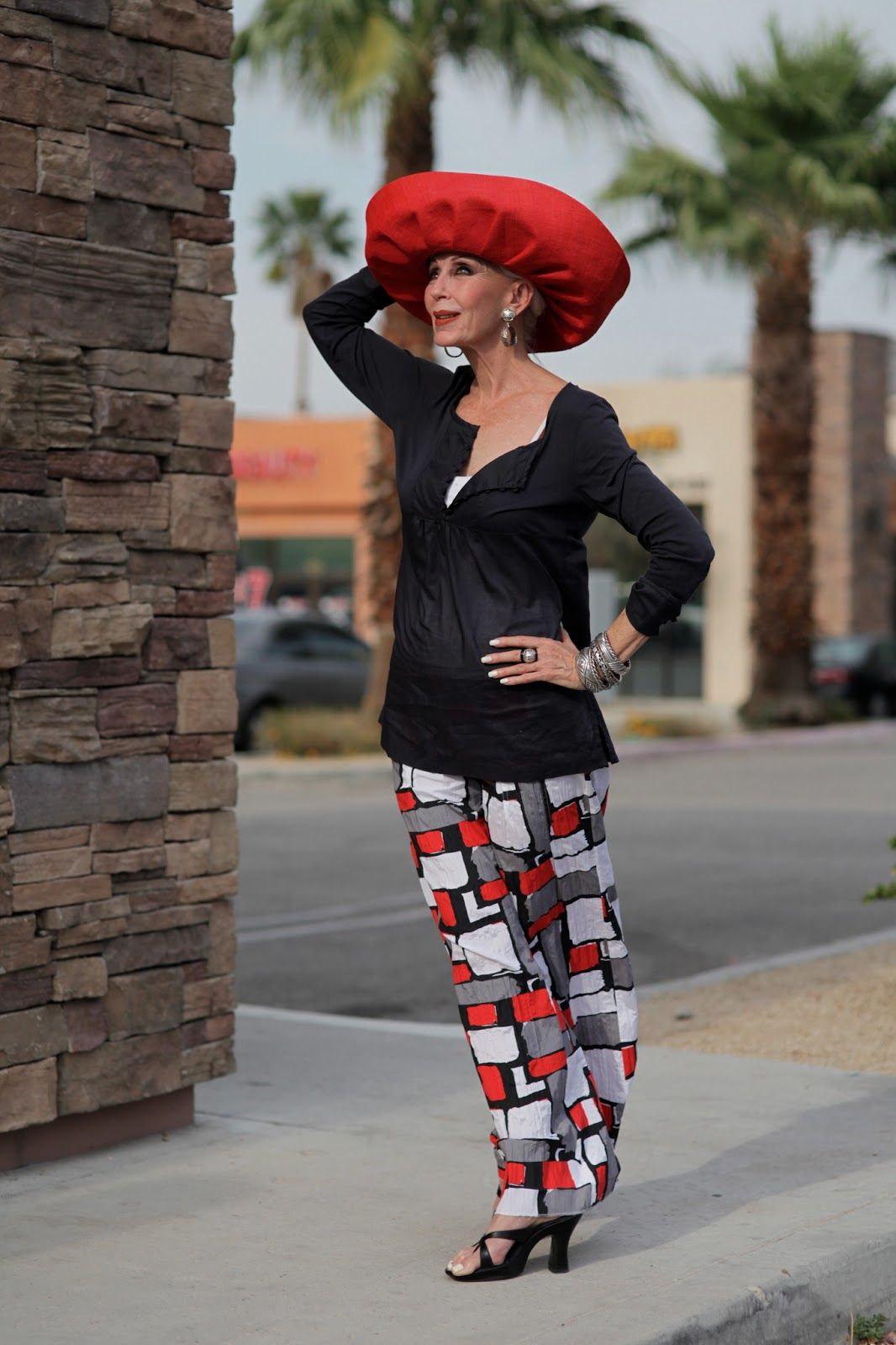 "Pretty cool blog.  ""Advanced Style""  I hope I'm this spunky when I'm that age!!!  :)"
