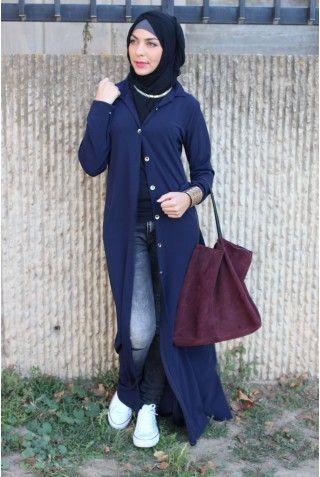 Robe Chemise Winter Beige Hijab Pinterest Chemises Abayas Et Chic