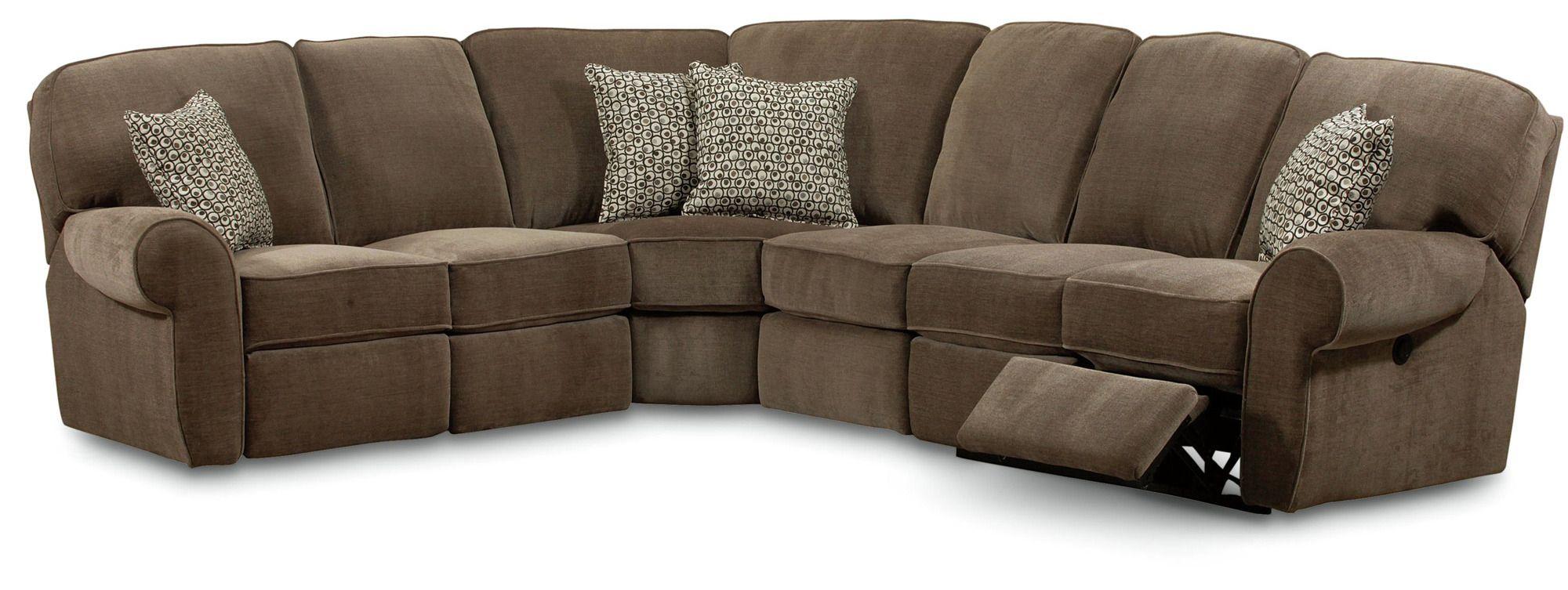 Lane Furniture Alpine Queen Sleeper Sectional 204 QSEC