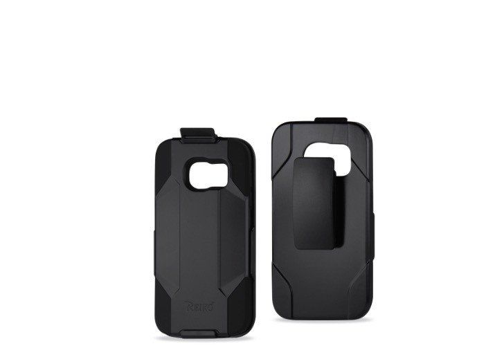 SAMSUNG GALAXY S7 EDGE  3IN1 HOLSTER COMBO-BLACK