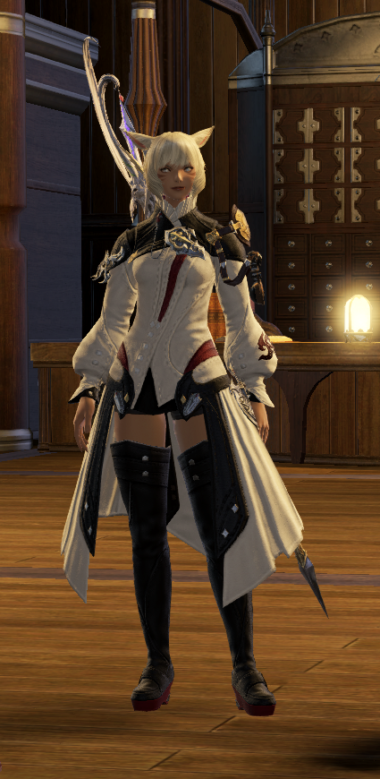 Y'shtola from FFXIV  This is her newest outfit from Heavensward  SO