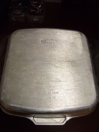 Details About Vintage Magnalite Roast And Bake Pan Wagner