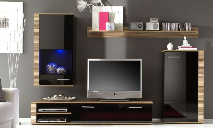 Modern Furniture Wall Units Adorable Contemporarywallunits  Modern Wall Unit Vabari2  $850.00