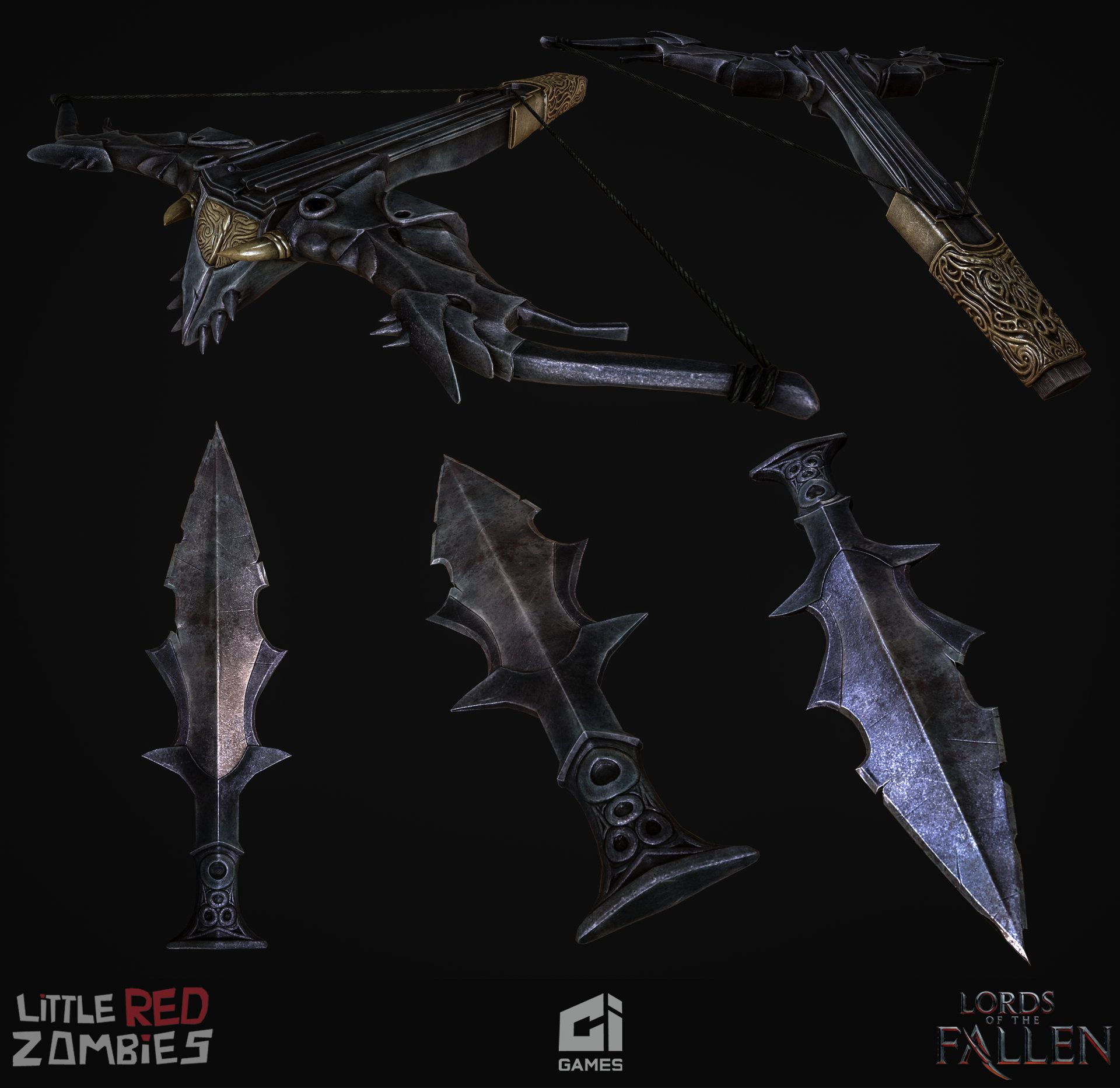 Lords of the Fallen Artdump Anupam Mehta Polycount Forum