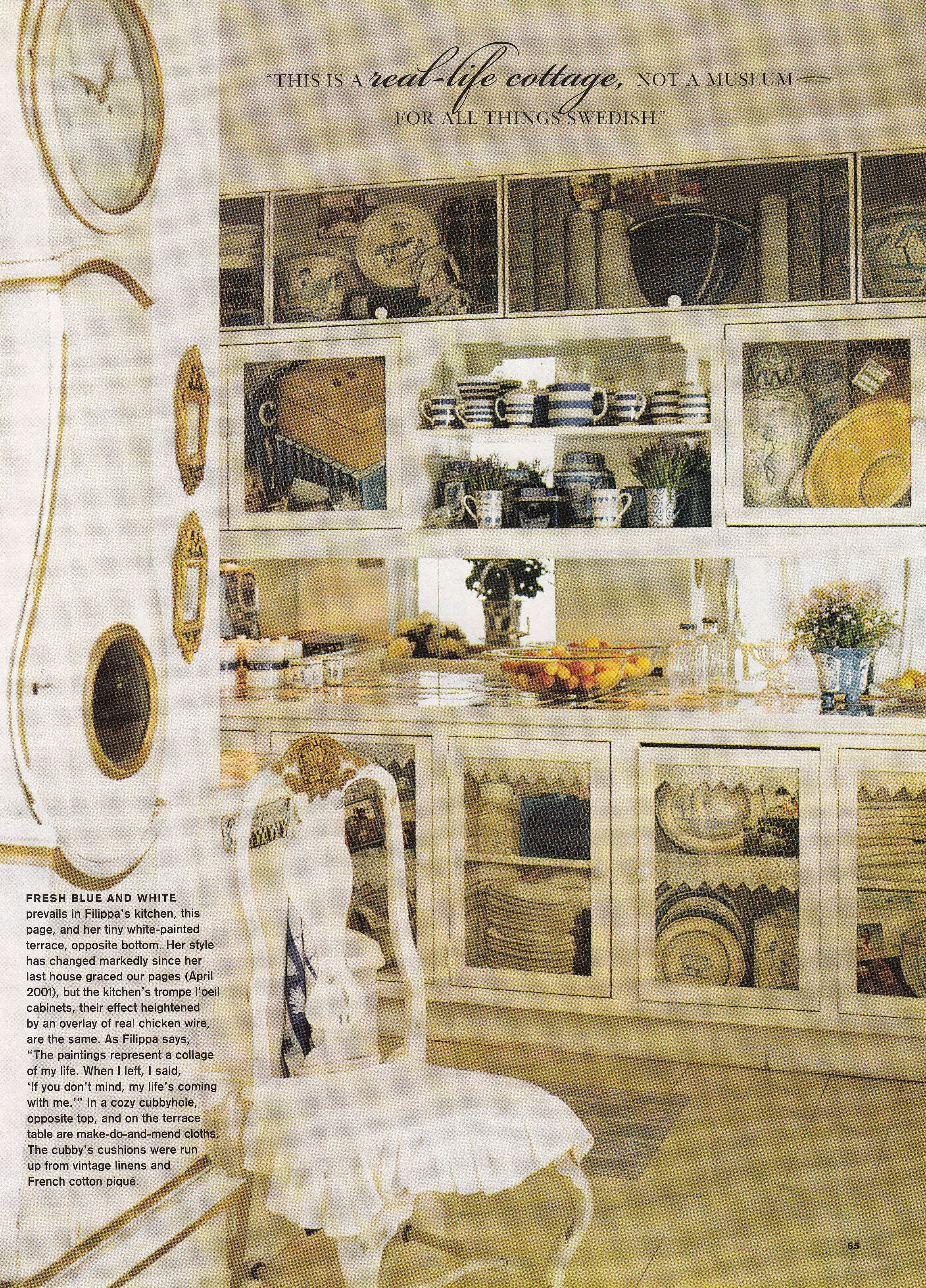 Filippa Kumlin D Orey Swedish interior designer Victoria magazine