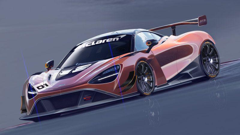 Mclaren Reveals The 720s Gt3 Race Car Cool Sports Cars New