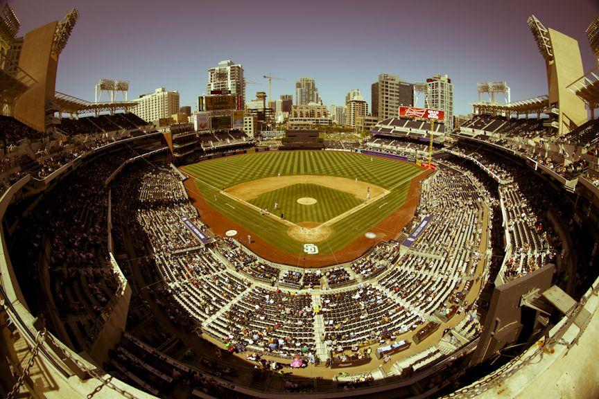 Inside Petco Park, home of the San Diego Padres Petco