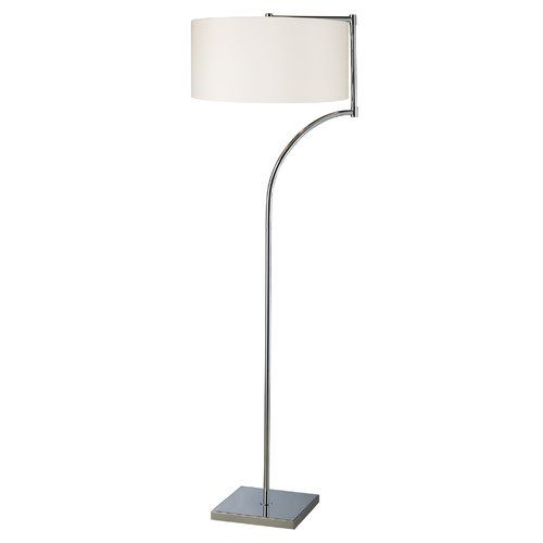 Dimond lighting 1 light led accent table lamp from the lancaster colle chrome lamps table lamps accent lamps