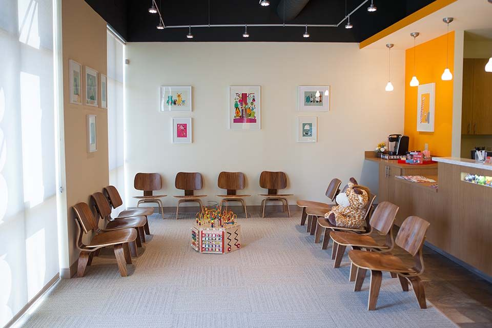 Beautiful Pediatric Waiting Room Chairs