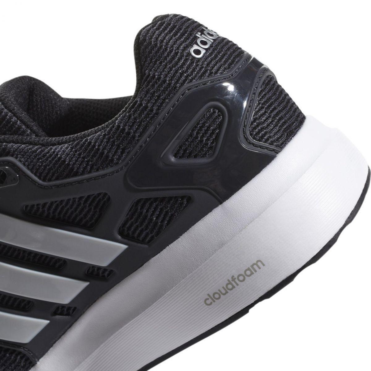 Buty Biegowe Adidas Energy Cloud V M B44846 Czarne Black Running Shoes Running Shoes Adidas Running Shoes