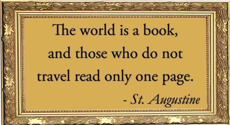 The World is a Book and Those Who Do Not Travel Read ly