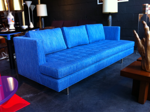 Attractive 1949 Dunbar Chamberlain Sofa. For Some Werid Reason I Really Enjoy The  Colour Of This