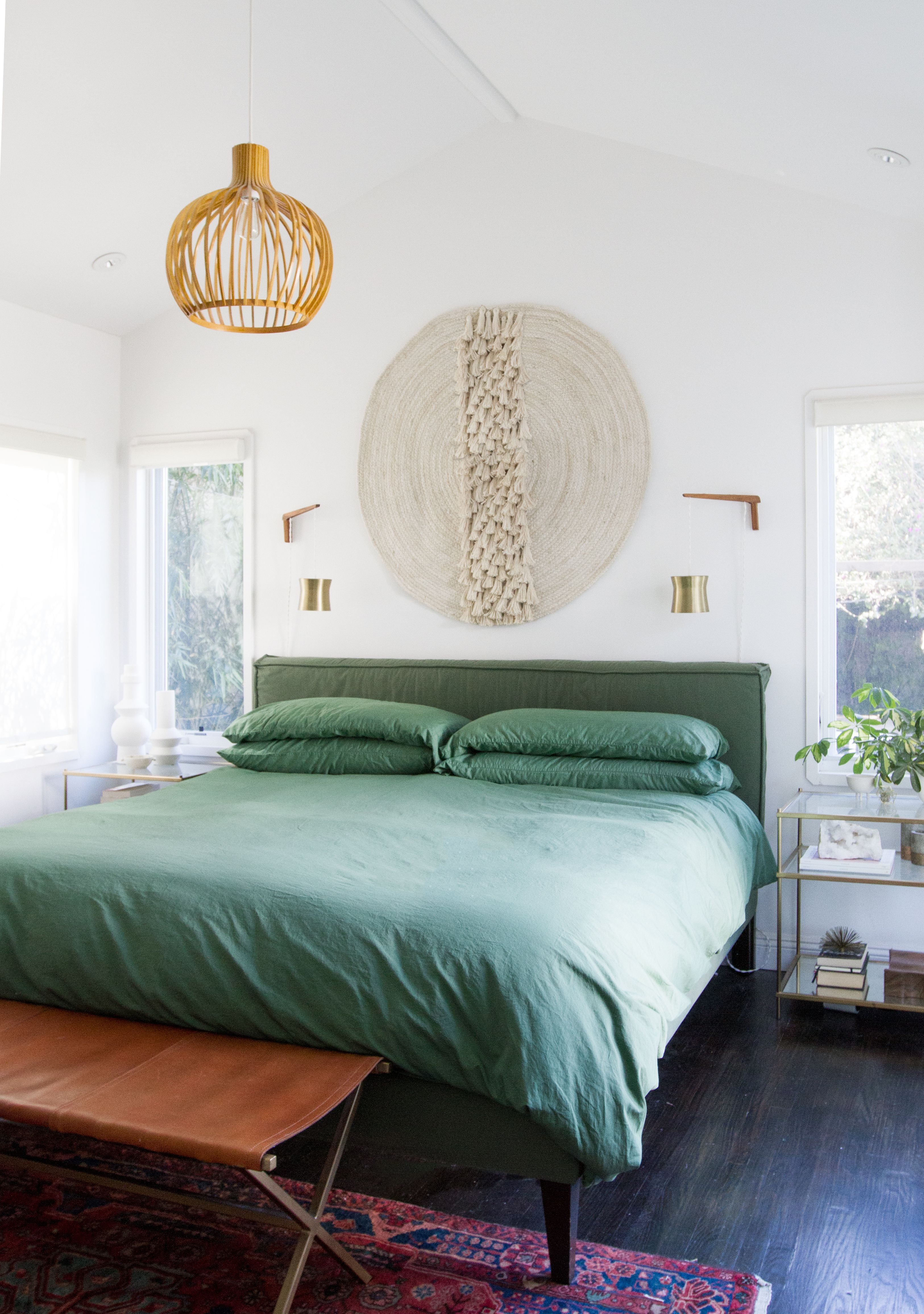 mini master bedroom makeover with hiflaneur custom dyed luxury