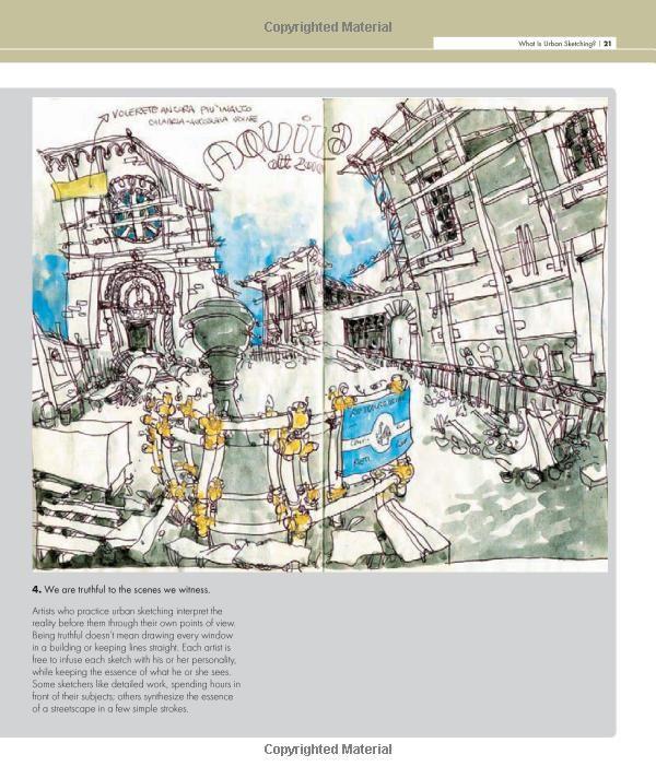 Amazon Com The Art Of Urban Sketching Drawing On Location Around The World 9781592537259 Gabriel Campanario Boo Urban Sketching Location Drawing Drawings