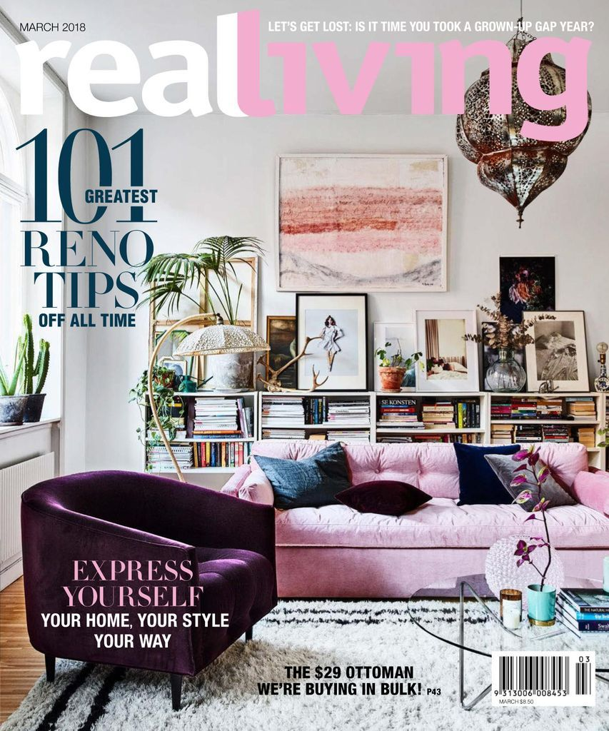 Real Living is the homes and lifestyle magazine for those who want to spend smart and live well. For handy household hints, great food ideas, outdoor tips, real shopping opportunities and how to steal some \