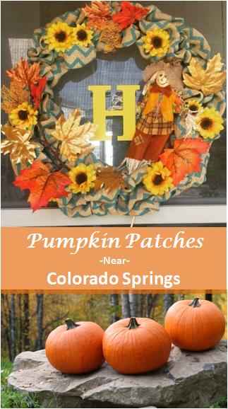 Pumpkin Patches Near Colorado Springs Open Now