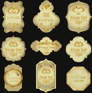 Vintage Wine Labels Design Vector Vintage Wine Label Vintage Wine Labels Design Wine Label Design