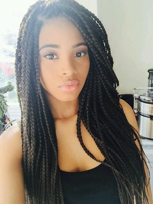 Pin By Lc On My Type Lol Micro Braids Hairstyles Braided Hairstyles Cool Braid Hairstyles
