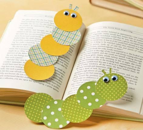 Caterpillar Bookmarks Hungry Caterpillar Bookmarks Kids Crafts