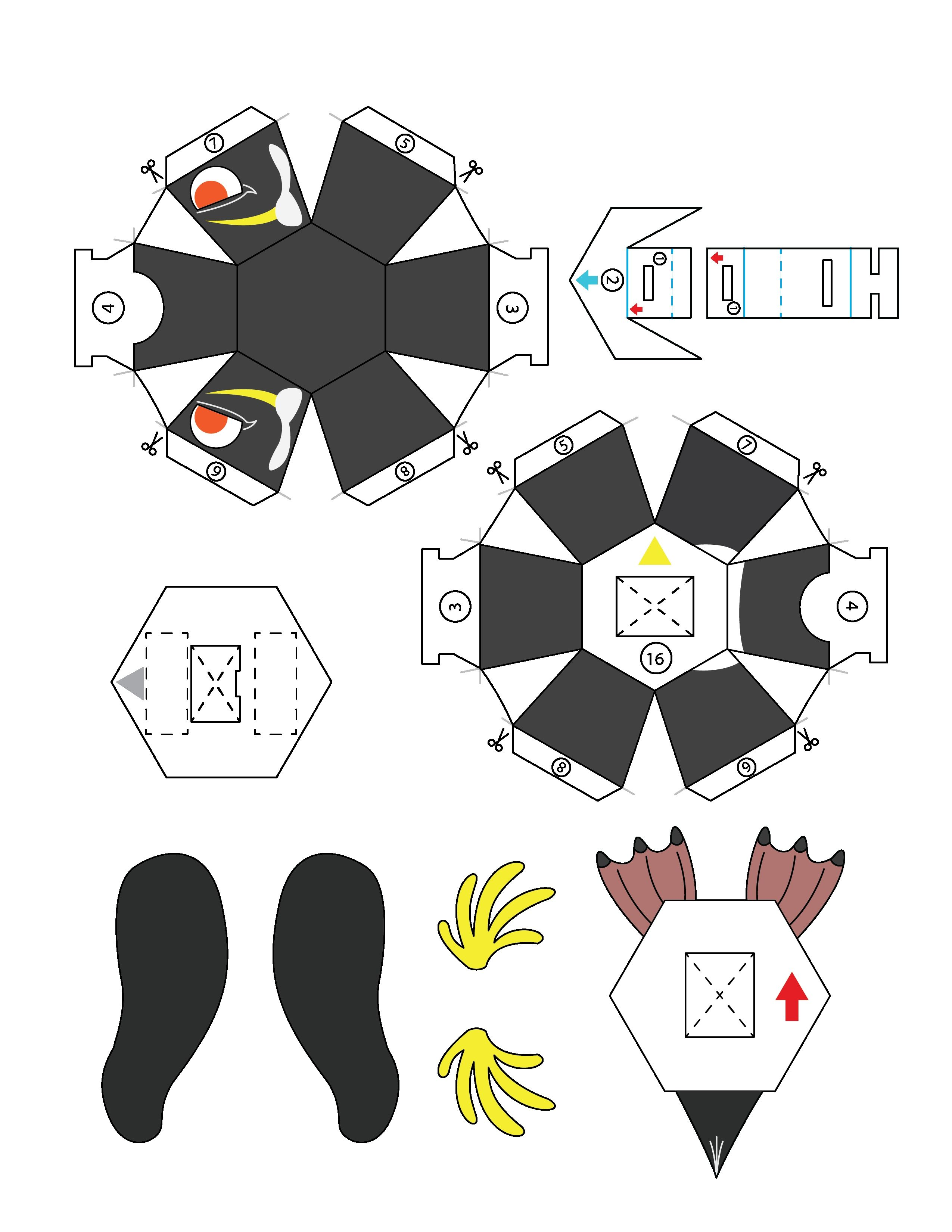 25 origami Zelda Instructions Coloring Pages Pinterest