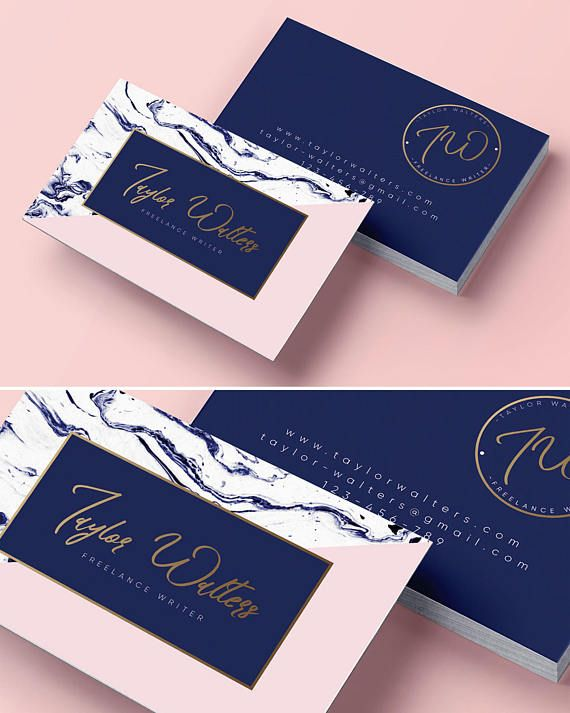 Logo design business card branding package marble business cards logo design business card branding package marble business cards gold logo branding kit premade logo logo professional logotype reheart Image collections