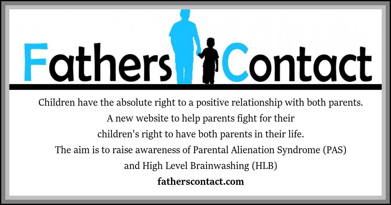A website raising awareness of Parental Alienation